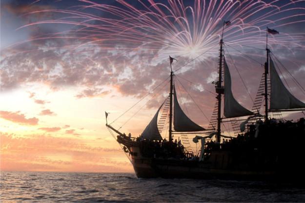 Barco Pirata Marigalante
